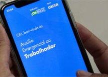 Publicada MP que institui mais 4 parcelas de R$ 300 do auxílio emergencial. Foto: Marcello Casal/Agência Brasil