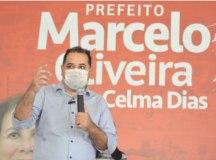 Marcelo Oliveira encabeça chapa do PT ao Executivo mauaense e tem como candidata a vice Celma Dias, ex-secretária de Promoção Social. Foto: Edu Guimarães/Divulgação