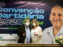 """Pretinho e Regina: """"queremos um governo de construção e um governo de sucessão para poder fazer ainda mais por nossa população"""". Foto: Divulgação"""