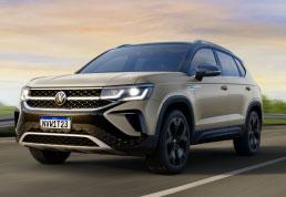 VW apresenta em première mundial o Taos, primeiro SUV da marca feito na Argentina