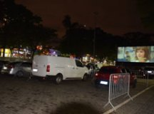 """Cine drive-in na Praça da Moça terá exibição do filme """"Pantera Negra"""". Foto: Mauro Pedroso/PMD"""