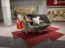 Shoppings do ABC apostam em tecnologia para garantir distanciamento do Papai Noel