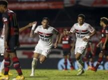 São Paulo vence o Flamengo de novo e está na semifinal da Copa do Brasil