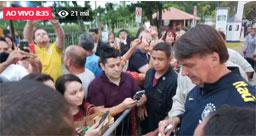 De férias em SC, Bolsonaro reúne políticos, empresários e religiosos para jantar