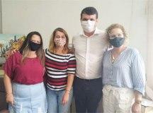 """Rosemeire, Roselaine Araujo, Cacá e Sandra: """"legalização traz dignidade"""". Foto: Angelica Richter"""