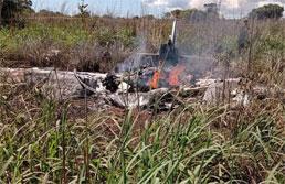 Aeronave com delegação do Palmas cai no Tocantins e deixa seis mortos