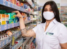 Coop inaugura três drogarias em lojas do Grupo Big
