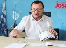 Josa: 'prefeitura estuda revogar convênio com a Sabesp para destinação de resíduos sólidos na cidade'. Foto: Reprodução Facebook