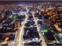 Programa Mais Luz alcançou 90% das principais vias; investimento foi de R$ 14 milhões. Foto: Gabriel Inamine/PMSBC