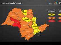 Governo do Estado põe região de Marília na fase vermelha e outras 10 na etapa laranja do Plano SP