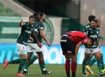 Em 'treino' para Copa do Brasil, Palmeiras empata com o Atlético-GO