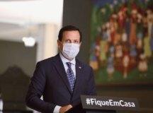 Anúncio foi feito pelo governador João Doria nesta sexta-feira. Foto: Governo do Estado de SP