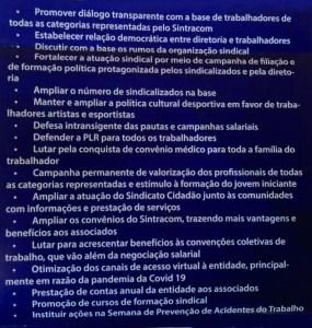 Claudinho assumirá presidência do Sintracom com a proposta de devolver a entidade aos trabalhadores