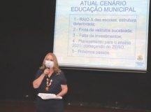 Rosi: a educação tem de trabalhar, principalmente, levando em consideração a questão da saúde. Foto: Divulgação/PMETRP