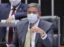 Lira defende esforço concentrado para o combate à covid-19 no país. Foto: Pablo Valadares/Câmara dos Deputados