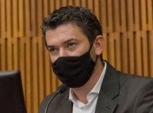 """Leite: """"sigo focado no meu mandato e na defesa das minhas ideias"""". Foto: José Paulo Cardeal/CMSA"""