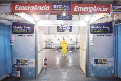 Consórcio ABC ainda não enviou recursos para o hospital de campanha. Foto: Divulgação/PMETRP