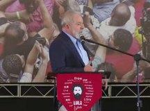 'Fui vítima da maior mentira jurídica contada em 500 anos de história', diz Lula. Foto: Reprodução