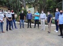 Vereadores de Diadema se reuniram com o deputado Márcio da Farmácia nesta sexta-feira. Foto: Reprodução Facebook