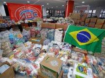 Metalúrgicos do ABC arrecadam 20 toneladas em doações no Drive-Thru Solidário