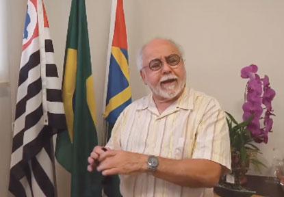 """Volpi: """"esta participação tem grande importância para Ribeirão Pires"""". Foto: Reprodução"""