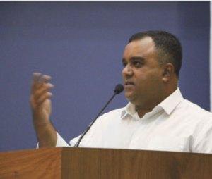 """Silva: """"tenho bom diálogo tanto com a base quanto com a oposição"""". Foto: Reprodução Facebook"""