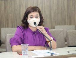 Vereadora Lilian Cabrera está internada com covid-19 desde o dia 7 de abril. Foto: Reprodução Facebook