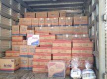 Procuradores da Secretaria de Assuntos Jurídicos doaram 300 cestas de alimentos para a campanha e um grupo de servidores da Secretaria de Educação fizeram contribuições no valor de R$ 3.875.Foto: Divulgação/PMD