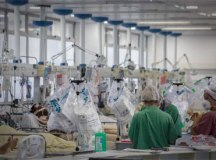 Cresce ocupação de leitos de UTI para covid-19 na rede privada