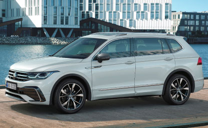 Versão Allspace incorpora atualizações apresentadas pela VW no Tiguan em 2020