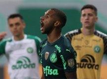 Com primeiro tempo inspirado de Wesley, Palmeiras vence Chapecoense por 3 a 1
