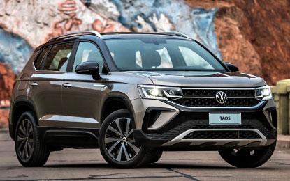 Produzido na Argentina, VW Taos chega com conjunto motor-câmbio feito no Brasil