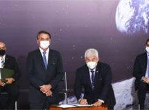 Acordo planeja enviar a primeira mulher à Lua em 2024. Foto: Marcelo Camargo/Agência Brasil