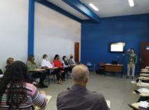 Educadores receberam treinamento sobre o novo sistema na manhã desta terça-feira. Foto: Divulgação/Secretaria de Educação RP