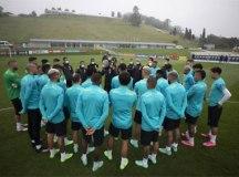 Seleção brasileira treina sem três atletas em Teresópolis