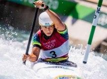 Ana Sátila e Pepê Gonçalves avançam às semifinais na canoagem slalom em Tóquio