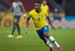 Gabriel Jesus é suspenso por 2 jogos e desfalca seleção na final da Copa América