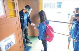 Retorno às aulas presenciais seguirão todos os protocolos sanitários. Foto: Omar Matsumoto/PMSBC
