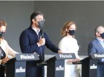 """Garcia: """"relação causa e efeito da vacinação está demonstrada claramente no nosso estado"""". Foto: Governo do Estado de SP"""
