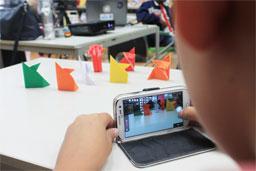 Oficinas de desenho, vídeo, stop motion e confecção de instrumentos integram a programação. Foto: divulgação/Rodrigo Correa