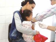 Em Diadema, a vacinação contra a gripe acontece nas 20 UBS, sem necessidade de agendamento. Foto: Marcos Luiz/PMD