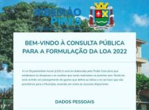 Consulta pública permite que qualquer munícipe participe da elaboração da Lei Orçamentária de 2022. Foto: Divulgação/PMETRP