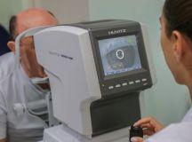 A expectativa é a de atender cerca de 3,3 mil pacientes que agurdam consulta oftalmológica, em horário estendido até 20h30, e cerca de 600 pacientes em espera para cirurgia oftalmológica, aos sábados. Foto: Letícia Teixeira/PMSCS