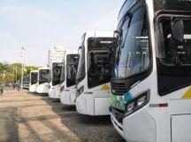 Viação Guaianazes investiu R$ 8 milhões na aquisição dos veículos, que atenderão cerca de 125 mil pessoas por dia. Foto: Angelo Baima/PSA