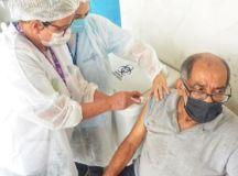 Cidade é a 1ª da região metropolitana a iniciar o complemento da vacina. Foto: Angelo Baima/PSA