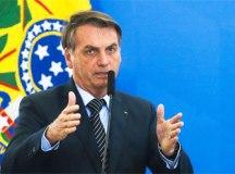 Ao se explicar sobre MP, Bolsonaro diz que não se combate fake news com cens. Foto; Antonio Cruz/Agência Brasil