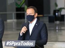 """Doria: """"teremos o maior volume de investimentos da história do Estado de São Paulo"""". Foto: Governo do Estado de São Paulo"""