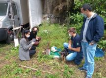 Visita técnica faz parte dos planos da secretária Andreza Araújo para evitar a escassez de água e poder oferecer o saneamento básico aos munícipes. Foto: Divulgação/PMETRP