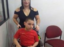 """Maria Lopes é mãe de Wilker, de 11 anos: """"É muito difícil. A briga é constante"""". Foto: Divulgação/Wilson de Sá"""