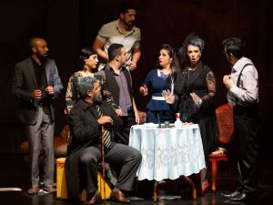 spetáculo gratuito é baseado na Divina Comédia, de Dante Alighieri. Foto: Divulgação/PMETRP